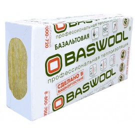 Базальтовый утеплитель Baswool Фасад (0.216 м3) 1200*600*50 (6 шт; 0,216 м3, 4,32 м2)