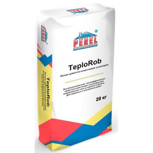 Перел Teplorob штукатурка для во влажных и сухих помещений, а также для наружных работ
