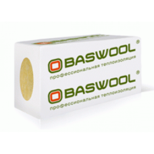 Базальтовый утеплитель BASWOOL ЛАЙТ 45 1200х600х100 (0,432 м3)