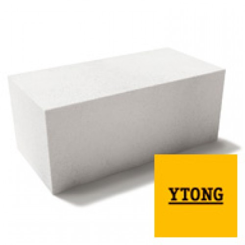 Газобетонные блоки YTONG D500 625x250x100