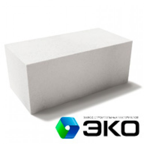 Газосиликатные блоки ЭКО D500 600x300x200