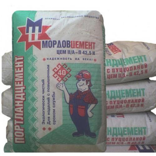 Цемент Мордовцемент М500 Д0 (50кг)