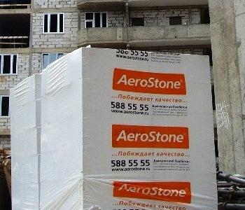 Блоки AEROSTONE незаменимы на любой стройке!
