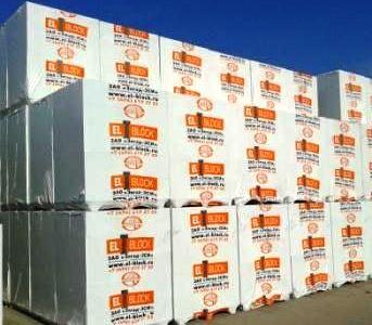 Сертифицированные блоки EL-BLOCK порадуют Вас непревзойденным качеством!