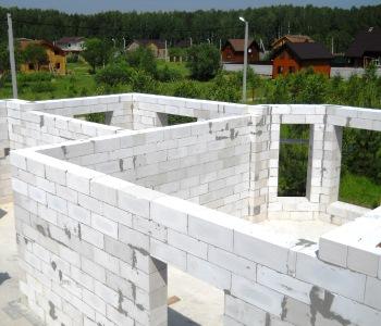 Строительство дома из блоков ГРАС