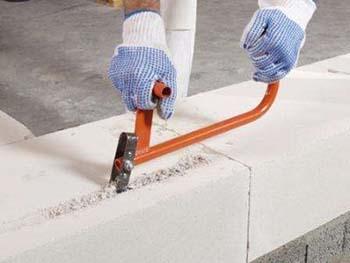 обработка газоблоков