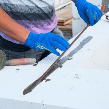 Армирование кладки газобетона